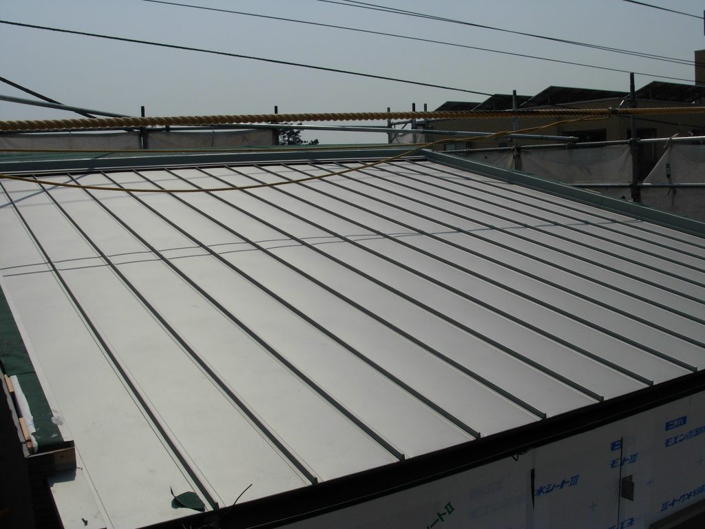 屋根の素材について